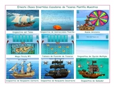 Treasure Hunt Spanish PowerPoint Game Template-An Original by Ernesto