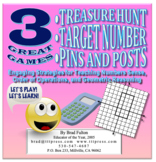 Treasure Hunt, Target Number, and Pins & Posts