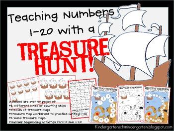 Treasure Hunt: Teaching Numbers 1-20