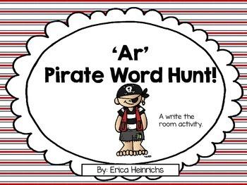 Treasure Hunt! -ar Write the Room