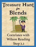 Treasure Hunt for Blends: Reading Game for Blends