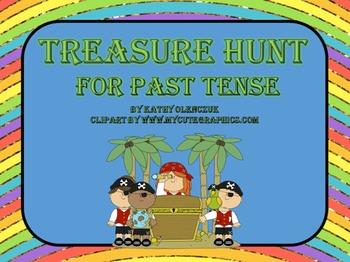 Past Tense (CCSS Language) -- A Language Smarboard Game