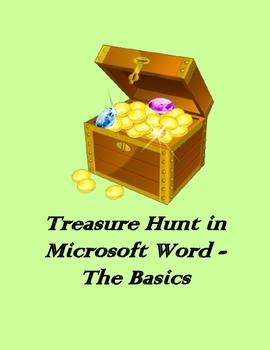 Treasure Hunt in Microsoft Word – The Basics (Medium)