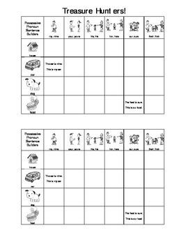 Treasure Hunters:  Pronouns, Irregular PT Verbs, Language Expansion