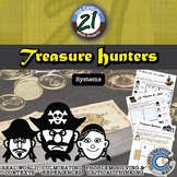 Treasure Hunters: System of Equations & Inequalities - 21st Century Math Project