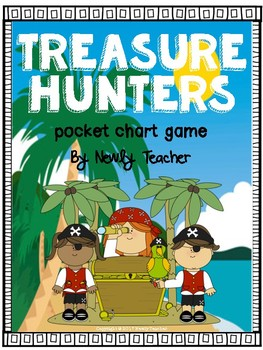 Treasure Hunters (pocket chart game)