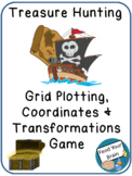 Treasure Hunting - Coordinate and Transformations Game