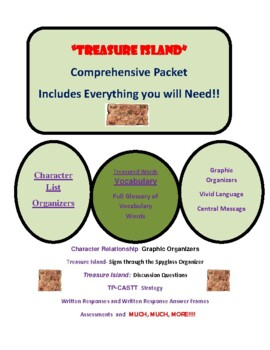 Treasure Island- A Comprehensive Teaching Packet