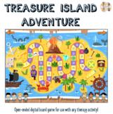 Treasure Island Adventure: Open-ended Digital Board Game (
