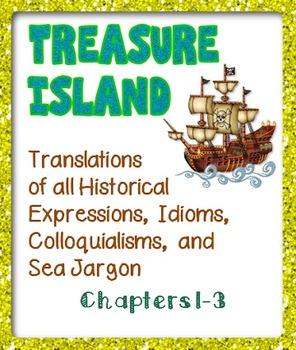 Treasure Island: Idioms, Historical Dialect, and Sea Jargon Translated  Chap 1-3