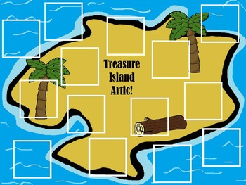 Treasure Island Articulation GAMES for Speech Therapy! Huge Sound Bundle!