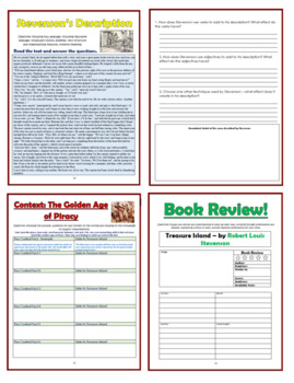 Treasure Island Comprehension Activities Booklet!