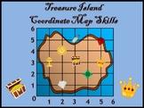 Coordinate Graphing - Treasure Island Map Skills