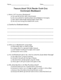 "Treasure Island Enrichment: ""Blackbeard"" Quiz (for CKLA Grade 4 Unit 8 Reader)"
