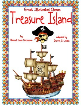 Treasure Island (Great Illustrated Classics) Binder Cover