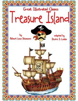 Treasure Island (Great Illustrated Classics) Lesson 1 Bundle