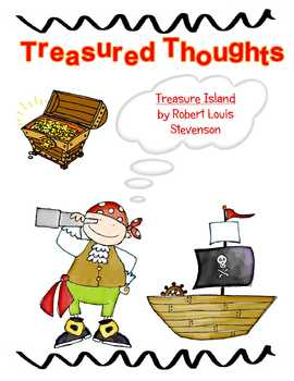 Treasure Island (Great Illustrated Classics) Treasured Thoughts Booklet Cover