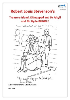 Treasure Island/Kidnapped and Jekyll and Hyde RLS unit.#betterthanchocolate