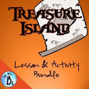 Treasure Island Lesson & Activity Bundle {CCSS Aligned}