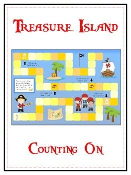Treasure Island Math Folder Game - Common Core - Counting