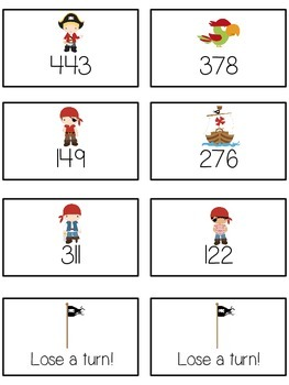 Treasure Island Math Folder Game - Common Core - Rounding to Nearest 100th