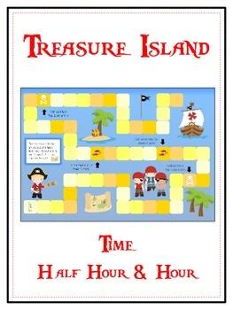 Treasure Island Math Folder Game - Common Core - Telling T