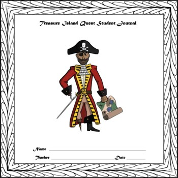 Treasure Island Quest Unit Robert Louis Stevenson Novel English Language Arts
