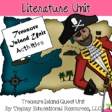 Treasure Island Quest Unit Literature Novel Study No Prep
