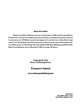 Treasure Island 10 Chapter Reader