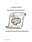 Treasure Island Reading Skills Worksheets