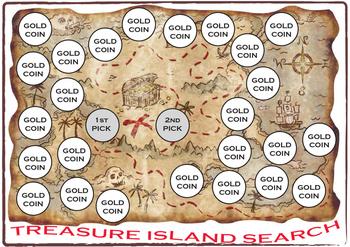 Treasure Island Search Game