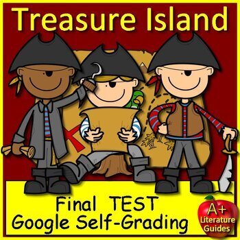 Treasure Island Test and Answer Key by A - PLUS Literature ...