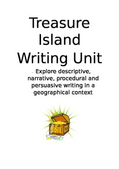 Treasure Island Text Types mini-unit