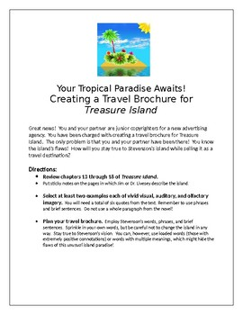 Treasure Island Travel Brochure