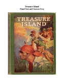 Treasure Island Unit Exam and Answer Key