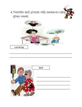 Treasure Island Vocabulary Booklet  Ch. 7-9