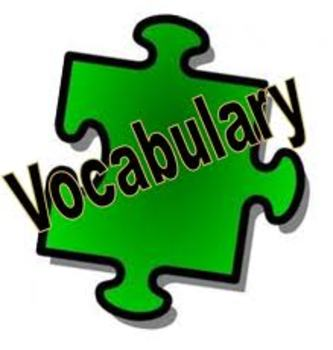 Treasure Island Vocabulary Pack