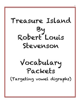 Treasure Island by Robert Louis Stevenson - Vocabulary Exercises