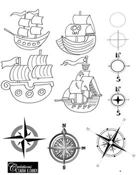 Treasure Map - Art Lesson Plan - Pirate