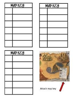 Treasure Map Creative Writing