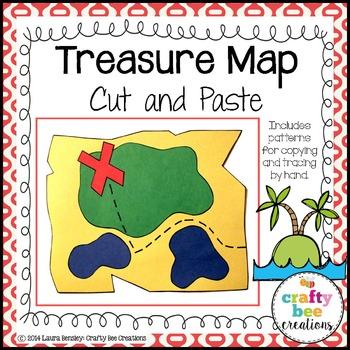 Treasure Map Cut and Paste
