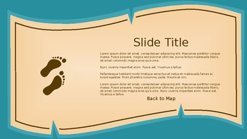 Treasure Map PowerPoint Template