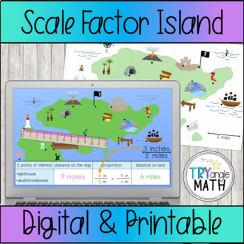 Treasure Map - Scale Factor Island