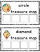 Treasure Map Shape Sorting