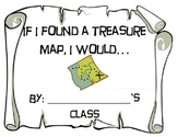 Treasure Map Writing