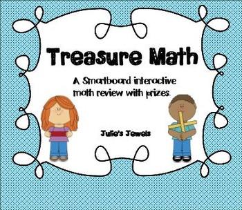 Treasure Math for Smart Board