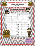 Treasure Number Lines- Double Digit Addition Bundle Plus A