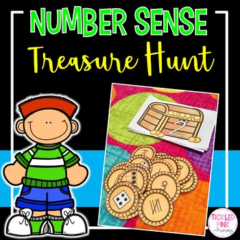 Treasure Number Sense Sort