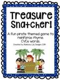 Treasure Snatcher CVCe Rhyme Game