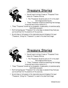 Treasure Stories Drama/Creative Writing Exercise